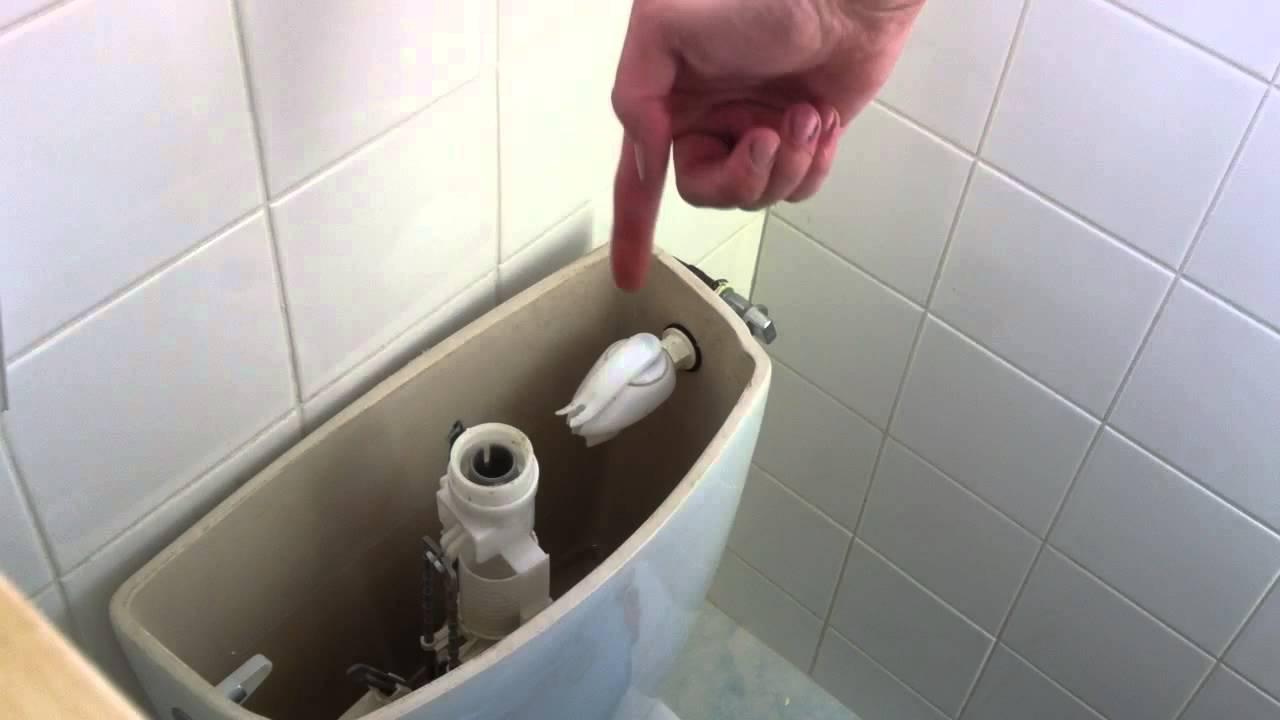 flotteur des WC