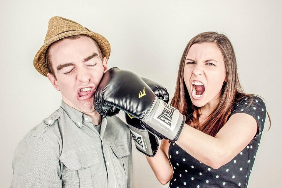 entrainer à la boxe
